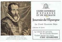 Caisse D'Epargne Et De Retraite. Juste Lipse. Ruche, Abeille. **** - Buvards, Protège-cahiers Illustrés
