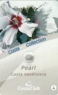 ITALY Cabin Keycard - COSTA NeoRiviera Pearl , Used - Chiavi Elettroniche Di Alberghi