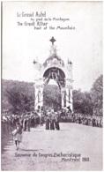 MONTREAL - Le Grand Autel Au Pied De La Montagne - Souvenir Du Congrès Eucharistique Montreal 1910 - Montreal