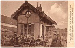 François Lajos 1872-ben A Grof De Montigny Es Tsa Cég Reimsi Pezsgo-bor Gyaraban Mint Tanulo - Ungheria