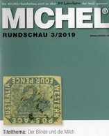 MICHEL Briefmarken Rundschau 3/2019 Neu 6€ Stamps Of The World Catalogue/magacine Of Germany ISBN 978-3-95402-600-5 - Magazines: Subscriptions