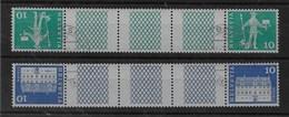 Combinaciones De Suiza NºZumstein S-73 Y S-74 O - Se-Tenant