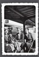 PERRON STATION BRUSSEL * LEOPOLDSTATIE * 1938 * BRUXELLES * 9 X 6 CM - Lieux