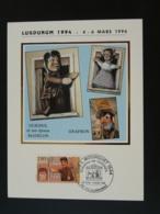 Carte Maximum Card Marionnette Puppet Guignol Villeurbanne 69 Rhone 1994 - Marionnettes