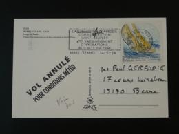 Carte Postale Commémoration St-Exupery Rassemblement Hydravion Seaplane Sur Carte Postale Berre L'Etang 1994 - Vliegtuigen