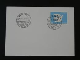 Obliteration Postmark Dinosaure Dinosaur Préhistoire Prehistory Frick Suisse 1995 - Stamps