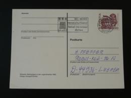 Obliteration Postmark échecs Chess Biel Suisse Switzerland 1995 - Echecs