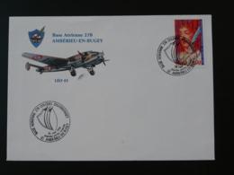 Lettre Commemorative Cover Base Aérienne 278 Aviation 01 Amberieu En Bugey Ain 1996 - Storia Postale