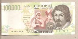 Italia - Banconota Circolata Da 100.000 Lire P-117b  - 1998 - [ 2] 1946-… Republik