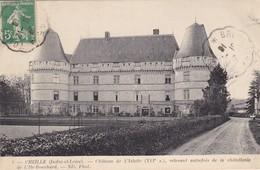 37. CHEILLE. CPA . CHÂTEAU DE L'ISLETTE. ANNEE 1916 - Other Municipalities