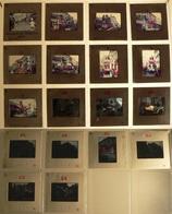 Carnaval De Libourne 1971-73 - 18 Diapositives (voir Les 6 Scans) - Diapositives (slides)