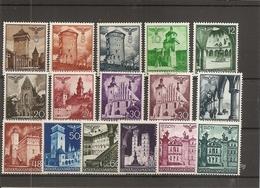 Pologne - Gouvernement Général ( Lot De 16 Timbres Divers Différents XXX -MNH) - 1939-44: 2ème Guerre Mondiale