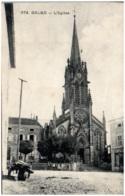 57 DELME - L'église - Autres Communes
