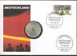 1995 Deutschland  Numisbrief / Münzbrief / Mit Olypiade-Münze 1972 10 DM - [ 7] 1949-…: BRD