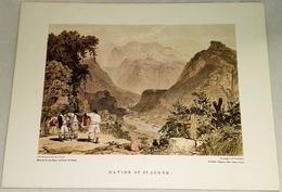 Litografía - Ravine Of St. Jorge - Edicao Da Direccao Regional De Turismo Da Madeira - Litografía