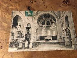 281/ Jaujac L Eglise Vue Interieur - Sonstige Gemeinden