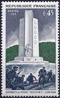 France 1969 - Mi 1675 - YT 1604 ( Battle Of Mont Mouchet ) MNH** - France