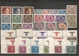 Pologne - Gouvernement Général ( Lot De Timbres Divers Différents XXX -MNH) - 1939-44: 2. WK