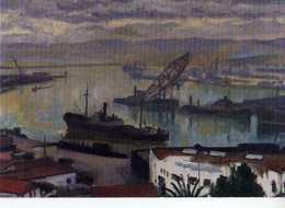 Albert MARQUET Port D'Alger, Musee De St Tropez L'Annonciade - Peintures & Tableaux