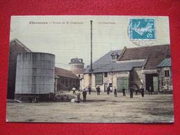 """91 - CHEVANNES - """" FERME DE M . DOUCHAIN - LA DITILLERIE """" - ////    RARE  //// - Autres Communes"""