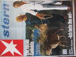 MAGAZINE STERN JULI 1966 BB UBER GUNTER SACHS ICH BETE IHN AN  DIE IDEALE GELIEBTE  N 31 - Voyage & Divertissement