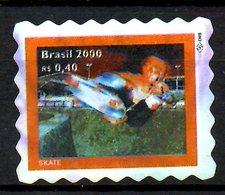 BRESIL. N°2594 Oblitéré De 2000. Skateboard. - Skateboard