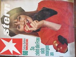 MAGAZINE STERN SEPTEMBER 1966  N 36 60 EXTRA SEITEN MODE SO ZIEHT DIE FRAU SICH MORGEN AN - Voyage & Divertissement