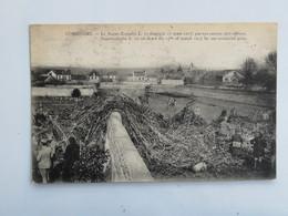 C.P.A. : 60 COMPIEGNE : Le Super  ZEPPELIN Abattu Le 17 Mars 1917 Par Nos Canons Anti-aériens, Animé - Compiegne