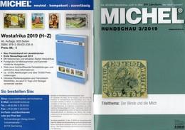 Briefmarken Rundschau MICHEL 3/2019 New 6€ Stamps Of The World Catalogue/magacine Of Germany ISBN 978-3-95402-600-5 - Philatélie