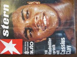 MAGAZINE STERN SEPTEMBER 1966  N 37 EVA WINDMOLLER SPRACH MIT CASSIUS CLAY - Voyage & Divertissement