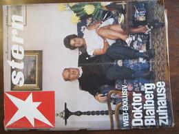MAGAZINE STERN MARZ 1968  N 13 WELT EXKLUSIV DOKTOR BLAIBERG ZUHAUSE - Voyage & Divertissement