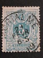 COB N °45 Oblitération Morialmé 1889 - 1884-1891 Léopold II