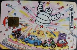 Telefonkarte Frankreich - Werbung - Michelin - Auto -  50 Units - 09/98 - Frankreich