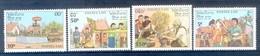 M151- Lao Laos 1990 Stamps New Year's Day. Laotische Neujahrsbräuche. - Laos