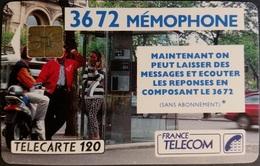 Telefonkarte Frankreich - Werbung - Memophone - 120 Units - 07/91 - Frankreich