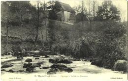 CPA DE MARCILLAT  (ALLIER)  PAYSAGE - VALLEE DU BEAURON - Sonstige Gemeinden