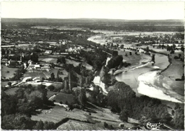 CPSM DE AVRILLY  (ALLIER)  VUE GENERALE. LE CANAL ET LA LOIRE - Other Municipalities
