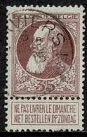 MW-2783   VERVIERS      AGENCE N° 1      OCB 77 - 1905 Barbas Largas