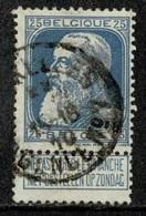 MW-2796   BRUXELLES          AGENCE N° 7       OCB 76 - 1905 Grosse Barbe