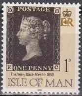 Man 1990 Michel 431 Neuf ** Cote (2008) 0.20 Euro Black Penny Sur Timbre - Man (Ile De)