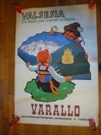 B 2464 - Romoli, Valsesia, Varallo - Manifesti