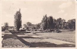 AK Saarbrücken - Gau-Theater Saar-Pfalz - Werbestempel Luftschutzpflicht - 1940 (39976) - Saarbruecken