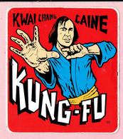 Sticker - KUNG-FU - KWAI CHANG CAINE - Autocollants