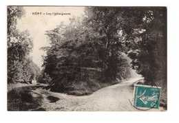 89 Hery Les Chataigniers Cpa Cachet 1911 - Hery