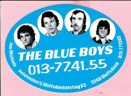 Sticker - THE BLUE BOYS - 013-77.41.55 - Jan Michiels Ketelmakerij - Wolfdonksestwg WOLFSDONK - Pegatinas
