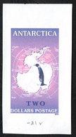 Antarctica Post Purple Penguin Color Trial - Unclassified