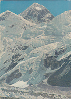 NEPAL - Mt Everest Flanked By Mt Nhuptse And Mt Lhotse 1979 - Népal