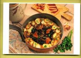 Recette Pommes De Terre Sarladaises ( Champignons, Funghi, Cepes émincés, Graisse D'oie, Laurier ) - Recettes (cuisine)