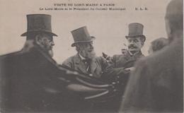 CPA Paris - Visite Du Lord-Maire à Paris - Le Lord-Maire Et Le Président Du Conseil Municipal (belle Scène) - Otros