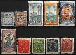 France (ex-colonies & Protectorats) > Guyane Française 1925-47 Timbres-Taxe - Neufs**/*/O - Neufs